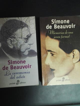 Libros Simone de Beauvoir