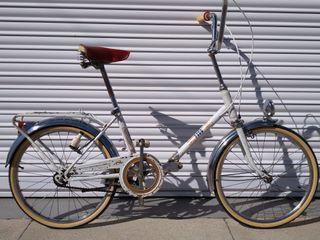 Bicicleta bh blanca