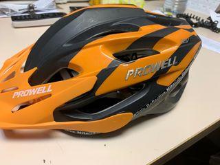 Casco bicicleta PROWELL F59 Naranja y negro