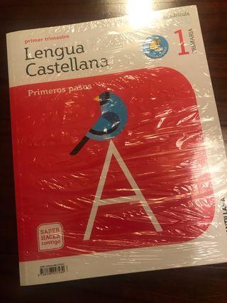 Libro lengua Santillana 1' primaria