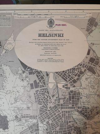 Carta Náutica de Helsinki