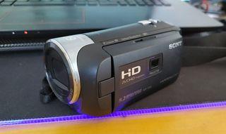 Videocámara SONY HDR-PJ410 HandyCam + Equipación