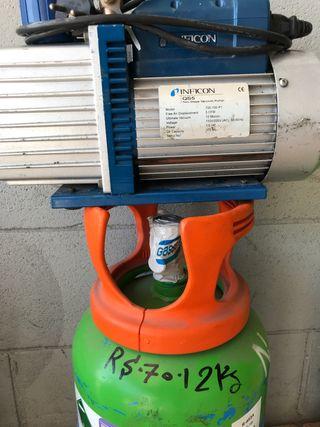 Herramientas frigorista instalador A.A