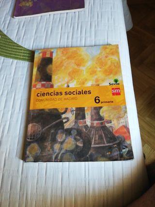 Ciencias Sociales 6 Primaria S.M. Savia