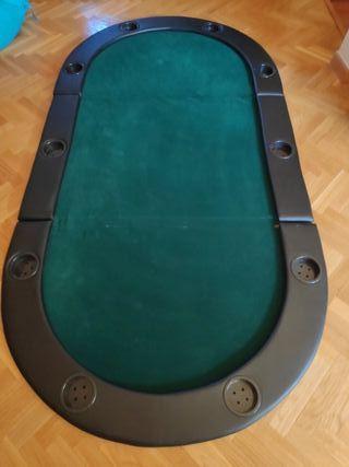 Mesa de pocker 10 jugadores