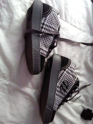 Zapatillas con ruedas Heelys, núm. 34