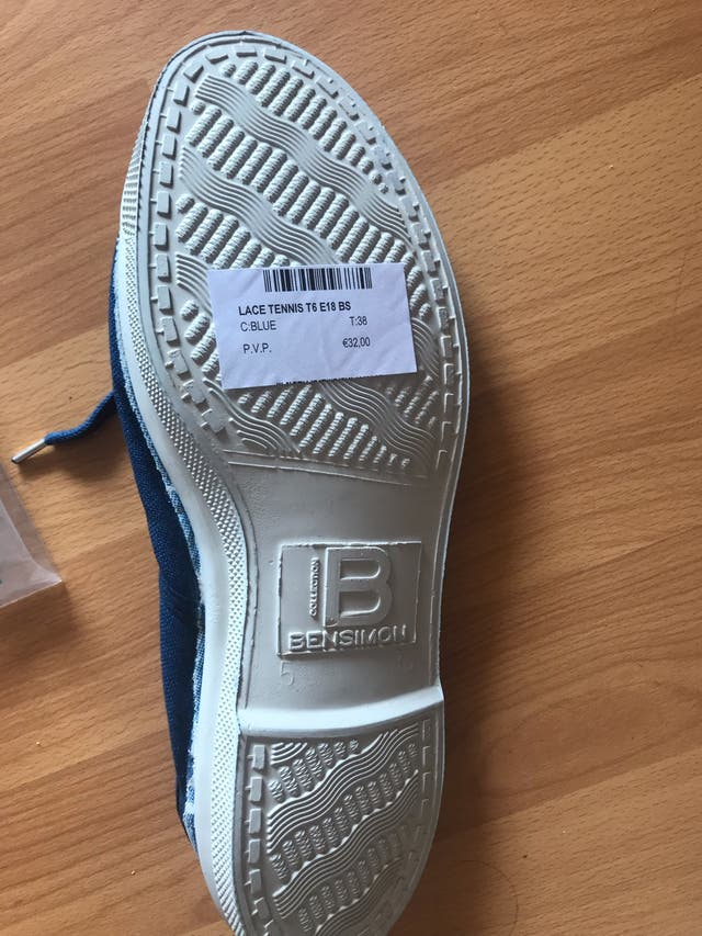 Zapatillas Bensimon nuevas