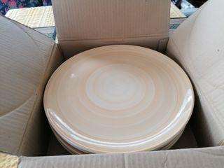 Bajoplatos de ceramica