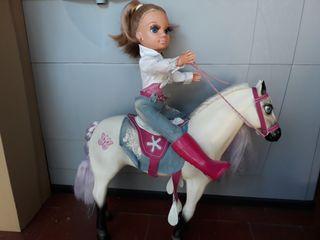 nancy y su caballo