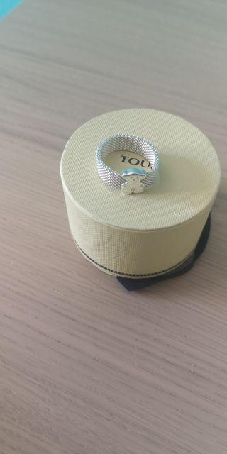 anillo mesh tous