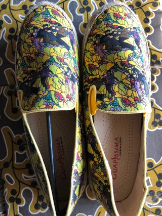 Alpargatas zapatillas Beatles Yellow Submarine 41