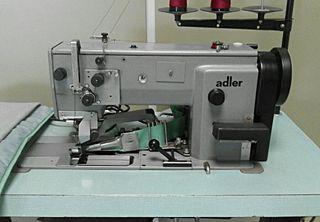 Máquina coser y ribetear industrial ADLER