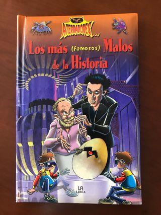 Libro: Los más famosos malos de la historia