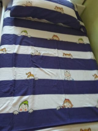Conjunto funda nórdica cama 90x200