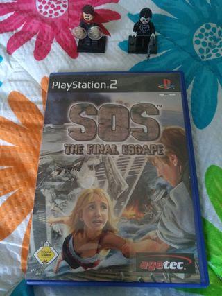 SOS The Final Escape PS2 PAL ITA/GER