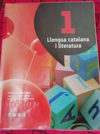 llengua catalana i literatura primer eso