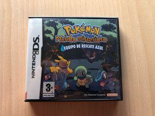Pokemon azul [ Nintendo DS]