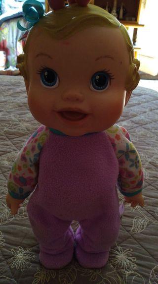 muñeca baby Alive saltitos 2009