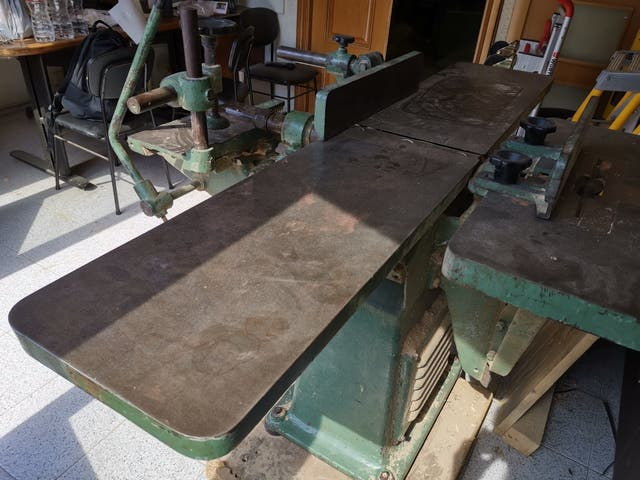 máquina universal de carpintería de madera