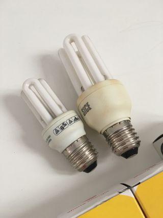 Lote de bombillas de bajo consumo