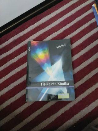 Libro física y química de bachillerato (euskera)