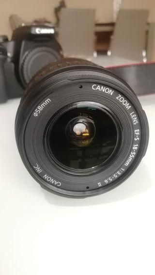 Objetivo Canon EF-S 18-55 mm 1:3.5-5.6 II