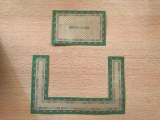Playmobil lote alfombras casa victoriana
