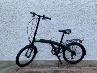 Bicicleta plegable Weed