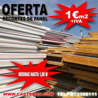 Panel Sandwich Recortes DE HASTA 180CM MAXIMO