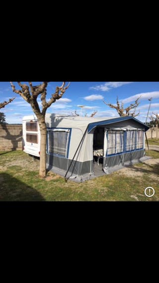 Avance caravana camping