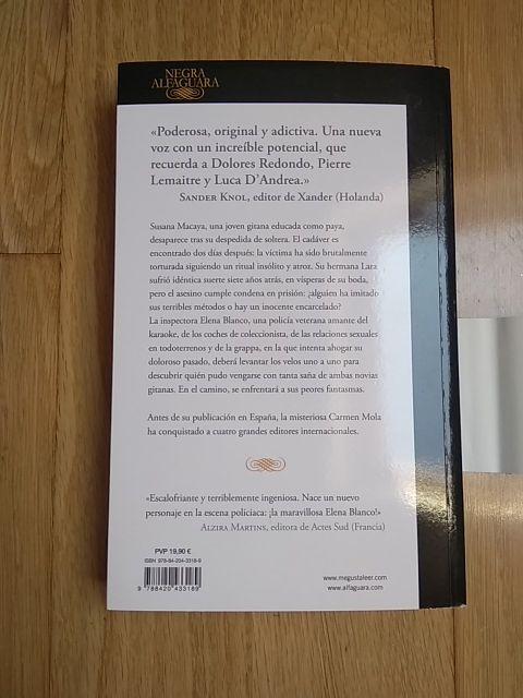 Libro La novia gitana