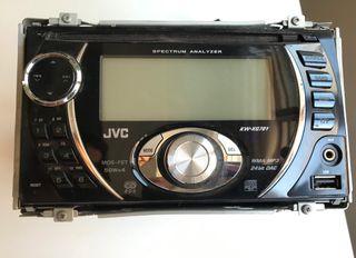 Radio Cd, usb y auxiliar JVC para coche