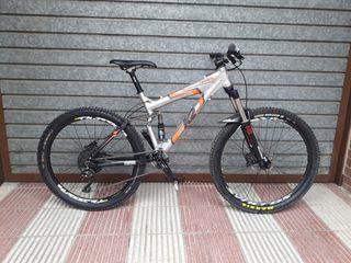 Bicicleta btt enduro doble talla m