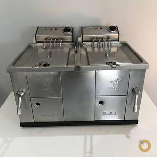 Freidora industrial FH10+10 (Agua y aceite)