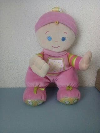 muñeca sonajero