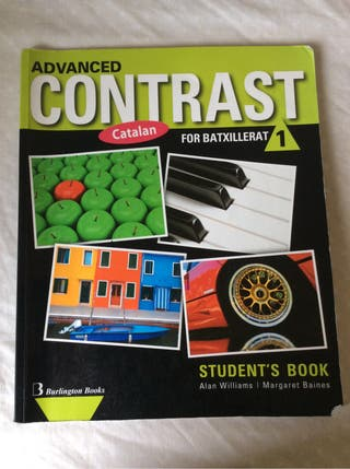 Advanced contrast for batxillerat 1 student's book