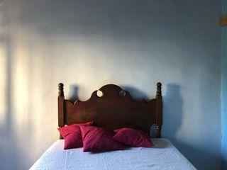 Cabeza de cama madera
