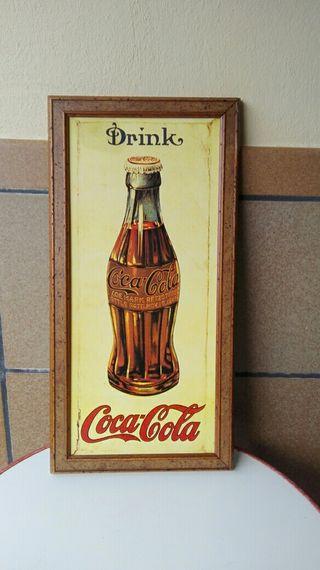 Cuadro vintage de Coca-Cola