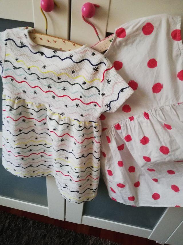 2 vestidos 3 años