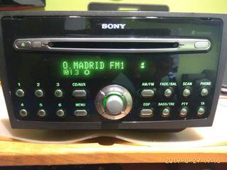 Radio Sony Ford MP3 con montaje incluido