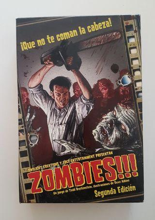 """Juego de Mesa """"Zombies"""""""