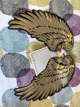 Wings clothing patch