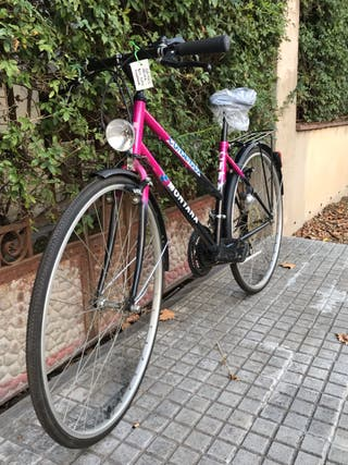 Bici ciudad/montaña mujer para estrenar