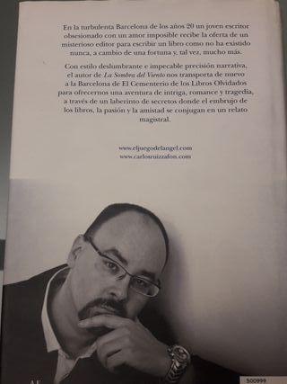 libro de Carlos Ruiz Zafon