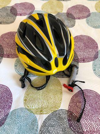 Lights and helmet