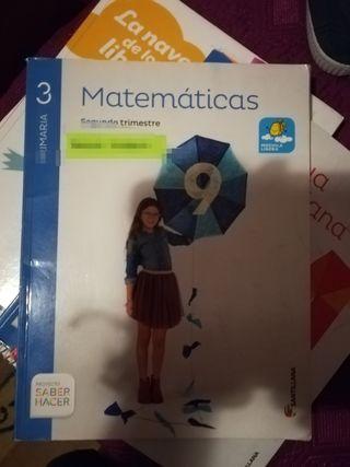 libros de matemáticas 3 primaria santillana