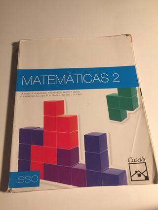 Libro Matemáticas 2 ESO Casals