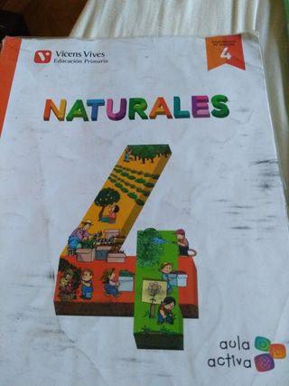 libro de naturales de cuarto primaria