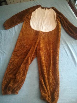 disfraz de oso 12/14 años
