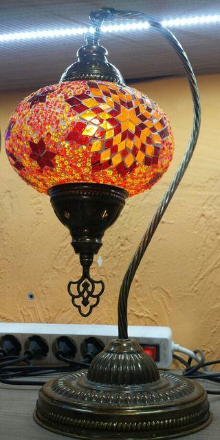 Lámpara turca cisne 3 7